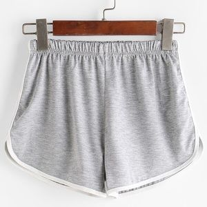 Pants - Grey Sporty Dolphin Shorts 💛